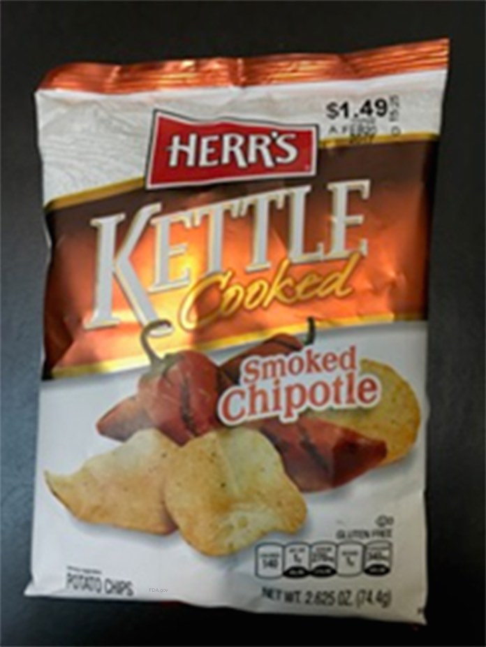 Herrs Chipotle Potato Chips Salmonella Recall