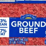 Hill Country Fare Ground Beef Recalled for Possible Metal Fragments