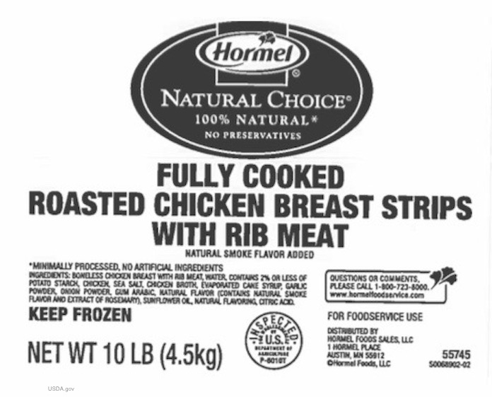 Hormel Chicken Breast Recall