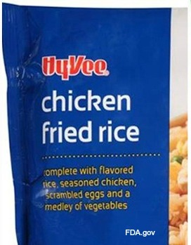 HyVee Chicken Fried Rice Listeria Recall