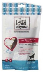 I and love and you dog food recall