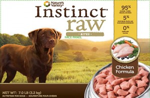Instinct Raw Dog Food Salmonella Recall