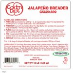 Golden Dipt® Jalapeño Breader Product Recalled for Potential E. Coli