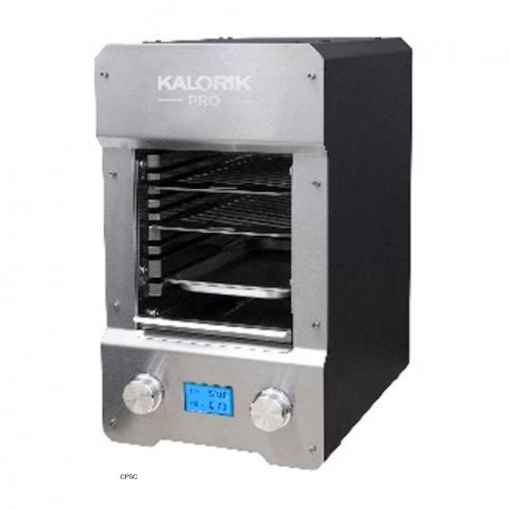 Kalorik Pro Electric Steakhouse Grill Recalled For Shock Potential