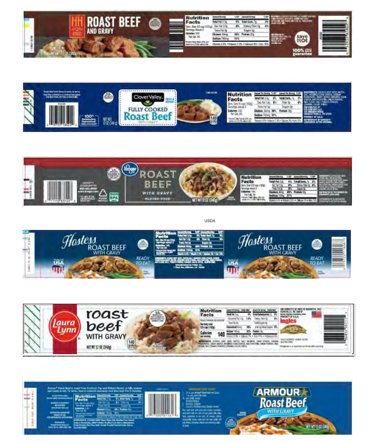Kroger Roast Beef with Gravy, Others Recalled For High Lead Levels