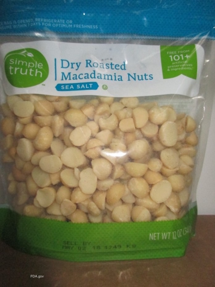 Kroger Simple Truth Macadamia Listeria Monocytogenes Recall