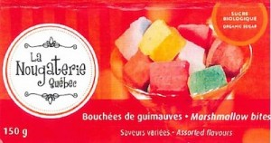 La Nougaterie Candy Allergens Recall