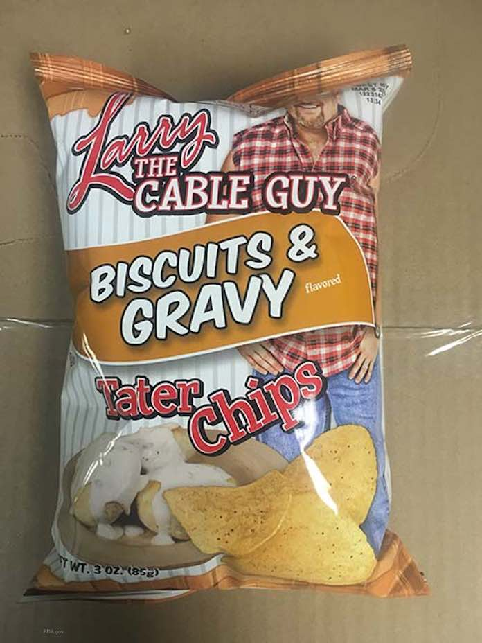 Larry the Cable Guy Chip Salmonella Recall