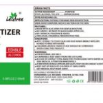 Leafree Instant Hand Sanitizer Recalled, Labeled as Edible Alcohol