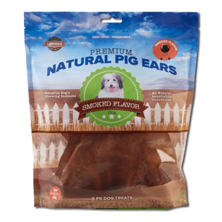 Lennox Expands Recall of Pig Ear Dog Treats For Salmonella