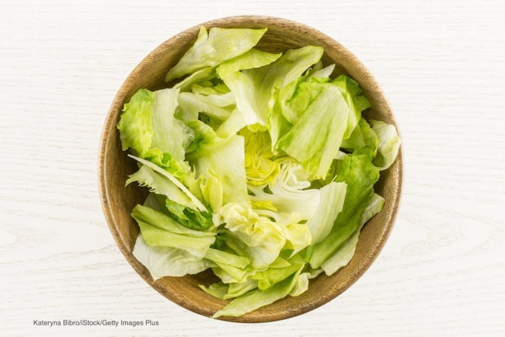 Salmonella Uses Lettuce As a Host to Evade Cleaning