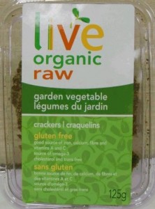 Live Organic Raw Cracker Recall Soy