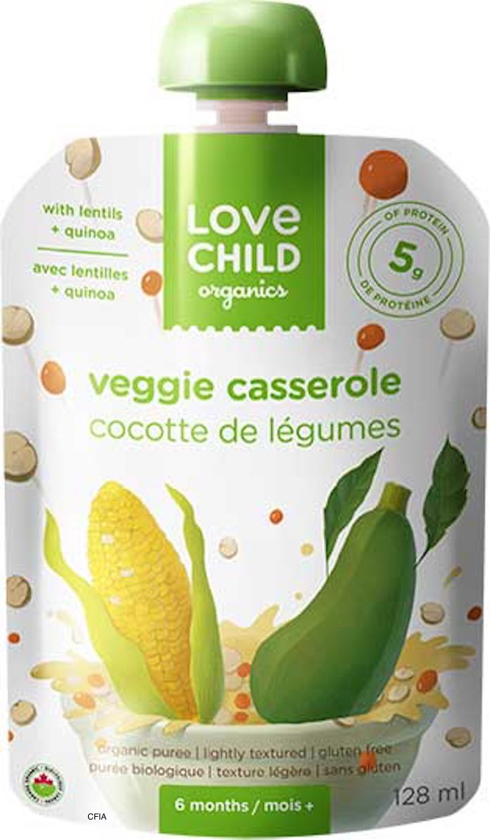 Love Child Organics Recalled Baby Food