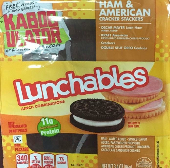 Lunchables Allergen Recall