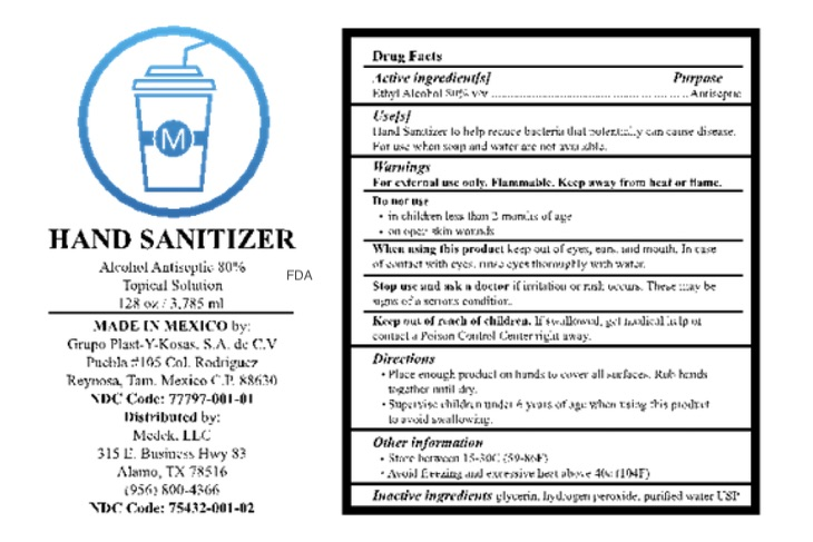 M Hand Sanitizer Recalled For Potential Methanol and Subpotent Ethanol