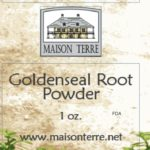 Maison Terre Recalls Goldenseal Root Powder; One Infant Has Died