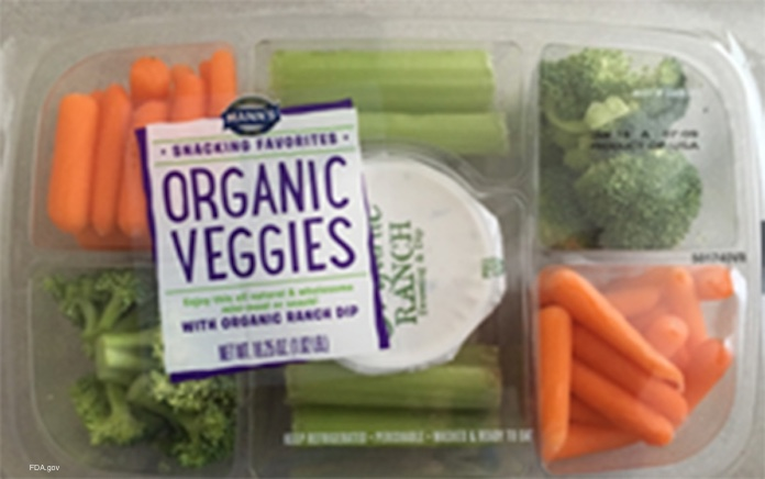 Mann Veggies Snacking Tray Recall