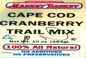 Market Basket Trail Mix Listeria Recall