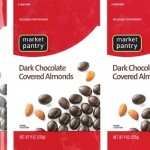 Market Pantry Chocolate Almonds Recalled for Undeclared Peanut