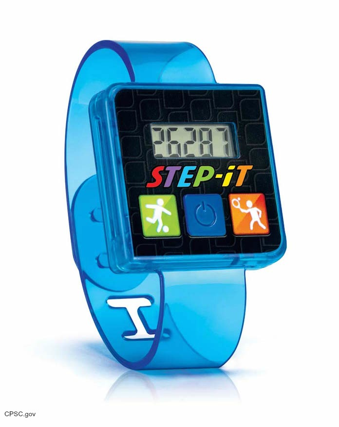 Mcdonald S Recalls Step It Activity Wristbands For Burn Hazard