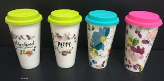 Michaels Ceramic Travel Mug Recall