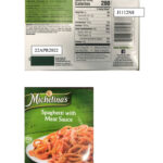 Michelina's Spaghetti with Meat Sauce Recalled For Undeclared Soy