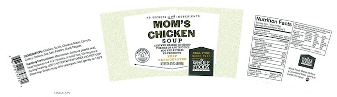 Mom's Chicken Soup Recall