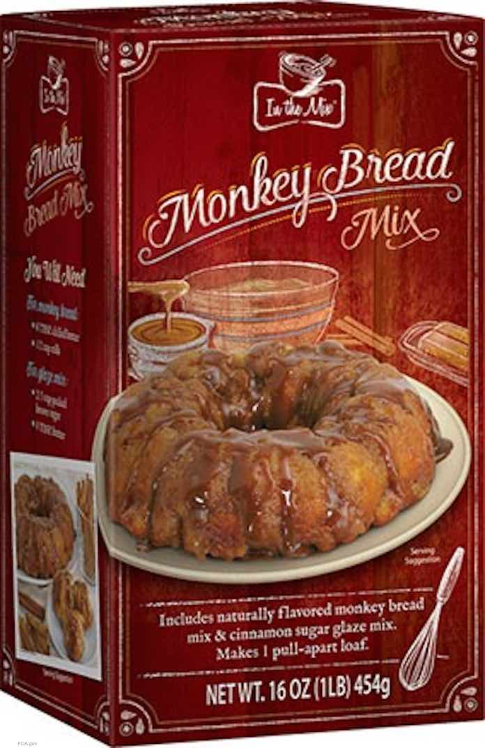 Monkey Bread Mix Salmonella Recall
