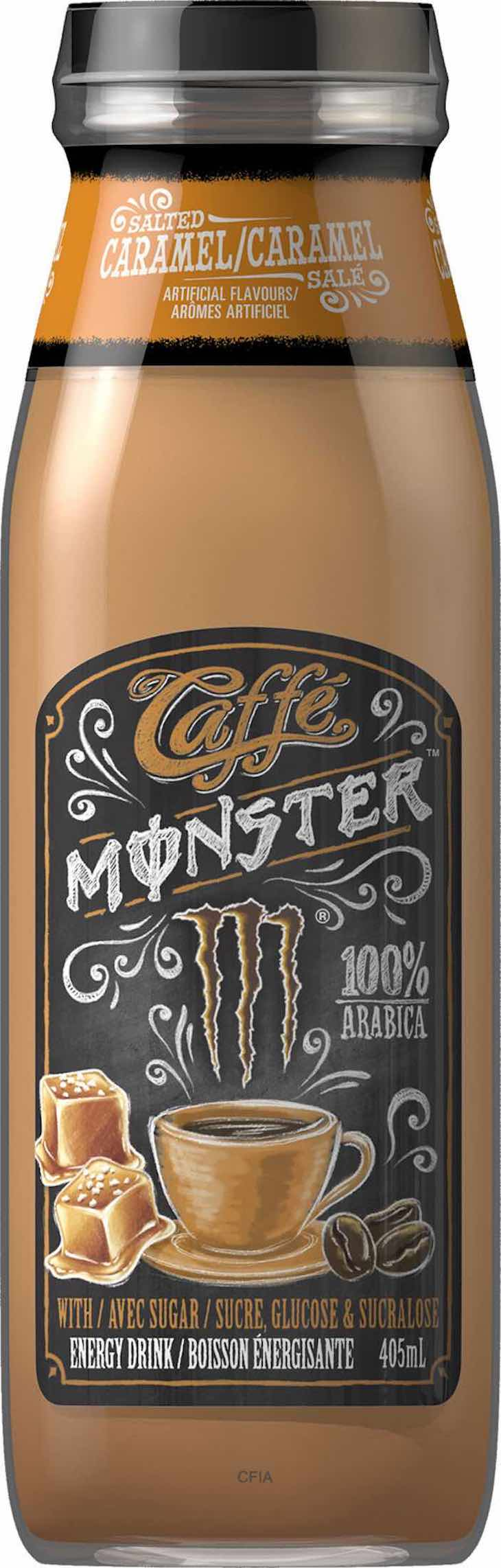 Monster Energy Caffee Monster Salted Caramel Energy Drink Recall