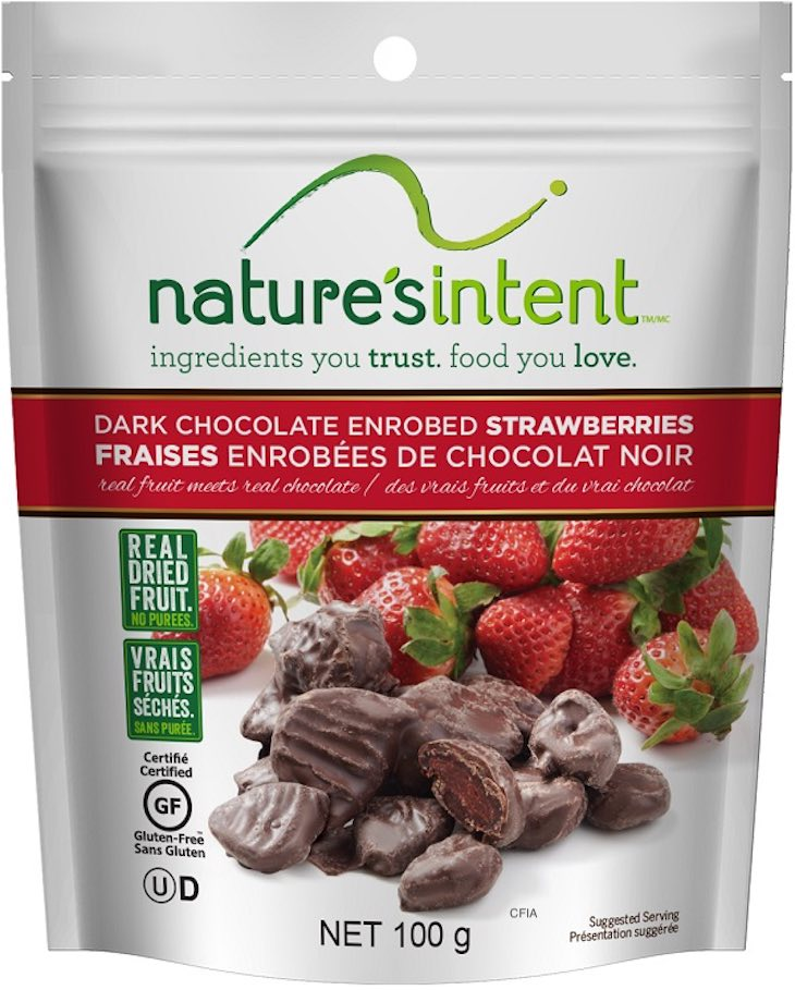 More Nature's Intent Dark Chocolate Enrobed Fruit Recalled