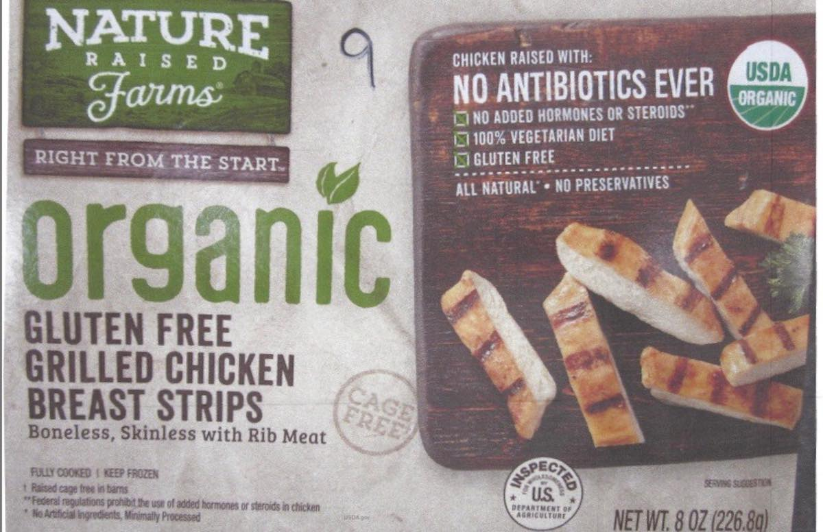 Image result for nature raised farms chicken strips