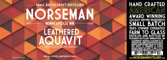 Norseman Leathered Aquavit Recall