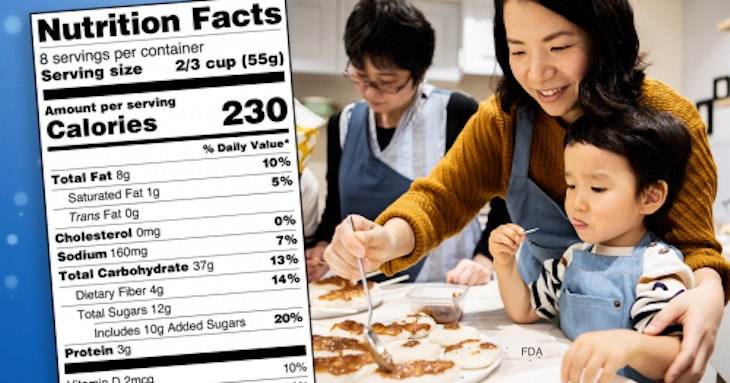 Cooking More at Home? Use the Nutrition Facts Label