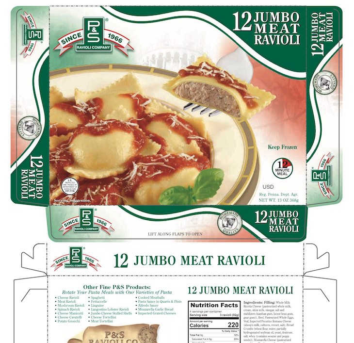 Health Alert For P&S Ravioli Company 12 Meat Ravioli For E. coli O157:H7