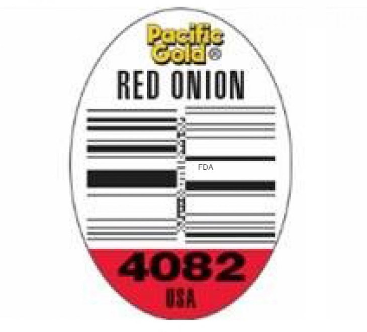 Pacific Gold Red Onions and Yellow Onions Recalled For Salmonella