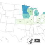 Peach Salmonella Enteritidis Outbreak Ends With 101 Sick in 17 States