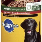 Pedigree Brand Wet Dog Food Recalled