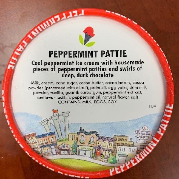Peppermint Pattie Ice Cream Recalled For Undeclared Peanut