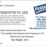 Perdue Chicken Fritters Recalled for Undeclared Eggs