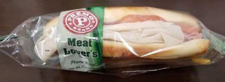 Lipari Expands Recall of Premo and Fresh Grab Sandwiches For Listeria