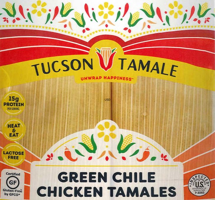 Public Health Alert For Tucson Tamale Chicken Products