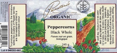 Recall of Peppercorns for Salmonella in Canada Updated