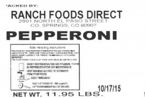 Ranch Foods Recalled Pork Products