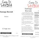 Recall of Avanza Pasta Meat and Poultry Products Updated