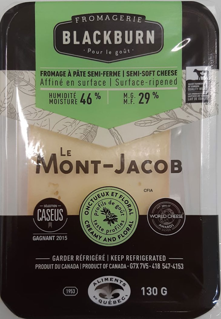 Recall of Fromagerie Blackburn Semi-Soft Cheese For Possible Listeria Updated