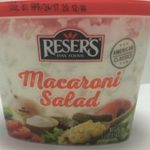 Reser's Macaroni Salad Recalled for Undeclared Allergens
