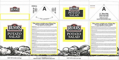 Resers Salad Recall