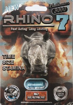 Rhino 7 Supplement Recall