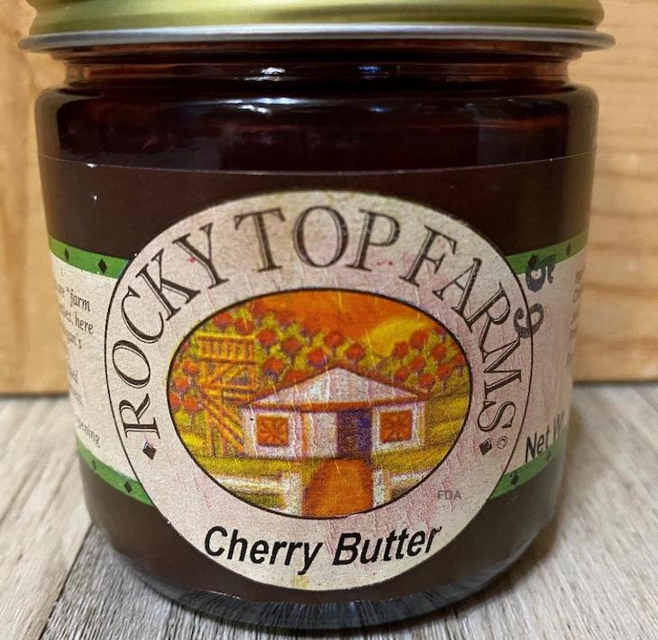 Rocky Top Farms Cherry Butter Recalled For Undeclared Milk
