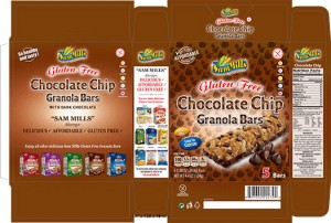 Sam Mills Chocolate Chip Granola Bars Recall